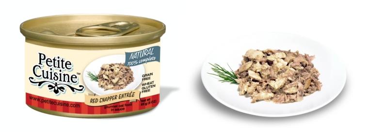 Petite Cuisine _Filety z ryb Lucjan czerwony i tuńczyk pacyficzny